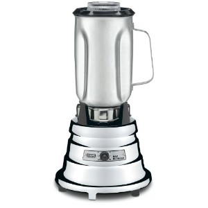 Waring Commercial BB900S 1/2 HP Chrome Bar Blender with 32-Ounce Stainless Steel Container, 1-Quart...