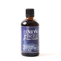 Mystic Moments | Lemon Myrtle Essential Oil - 100ml - 100% Pure