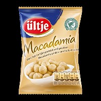 ultje Edelnuts - 高貴ナッツ - Macadamias, without fat roasted and salted 150 g - 5,29 oz - 脂肪ロースト塩蔵なしのマカダ...