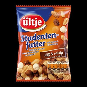 ultje Nuss-(fruit-) Mix - ultjeナット(フルーツ)ミックス - Studentenfutter sus and salzig 150 g - 5,29 oz -...