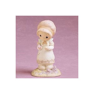 "Precious Moments ""We Are God's Workmanship"" Porcelain Figurine by Precious Moments [並行輸入品]"