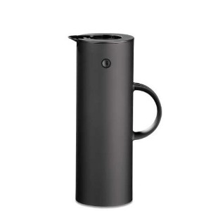 Stelton EM77 Vacuum Jug, 33.8 oz, soft black by Stelton