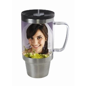 Stainless Steel Photo Travel Mug by Thermo-Temp