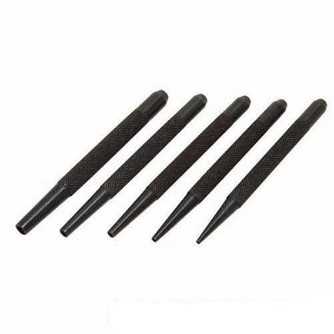 5 Piece 1.5-5mm Nail Punch Set