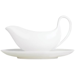 Wedgwood White Leigh Gravy Stand by Wedgwood