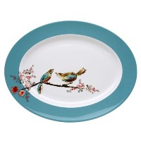 Lenox Simply Fine Chirp 16 Oval Platter by Lenox