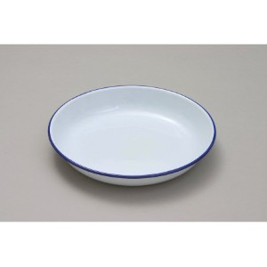 18cm Enamel Rice Pasta Plate by Country