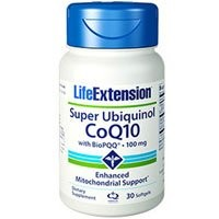 海外直送品Life Extension Super Ubiquniol Coq10 With BioPQQ, 30 Soft gels (Pack of 2)
