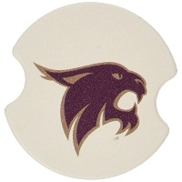 Thirstystone Texas State University San Marcos Car Cup Holder Coaster, by Thirstystone