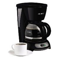 Mr. Coffee 4-Cup Switch Coffeemaker, Black, TF5 by Mr. Coffee