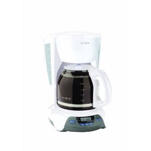 Mr. Coffee VBX20 12-Cup Programmable Coffeemaker, White by Mr. Coffee