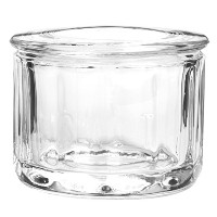 Anchor Hocking Fire King Glass Salt Dip with Lid by Anchor Hocking