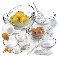 Anchor Hocking 10-Piece Mixing Bowl Set with Kitchen Gadges and Kitchen Tools by Anchor Hocking