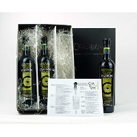 3 glass bottle Cladivm Hojiblanco 500ml -- Extra virgin olive oil by Oliva Oliva Internet SL