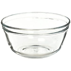 Anchor Hocking Glass Mixing Bowl, 1.5-Quart by Anchor Hocking