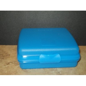Tupperware Sandwich Keeper / Lunch Container (Blue) by Tupperware