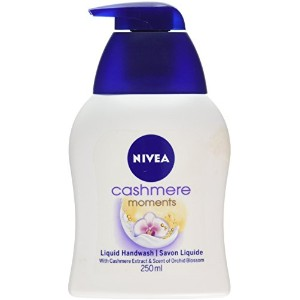 Nivea 250 ml Cashmere Moments Liquid Hand Wash - by Nivea