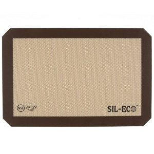 Sil-Eco E-99129 Non-Stick Silicone Baking Liner, Medium Size, 9-1/2 x 14-3/8 by Sil-Eco