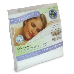 Premium Standard Pillow Protector by Protect-A-Bed