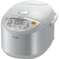 Zojirushi NS-YAC18 Umami Micom 10-Cup (Uncooked) Rice Cooker and Warmer, Pearl White by Zojirushi