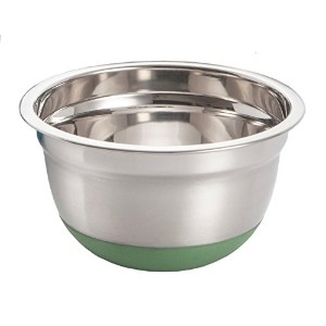 ExcelSteel 296 1.5-Quart Stainless Steel Non Skid Base Mixing Bowl by ExcelSteel