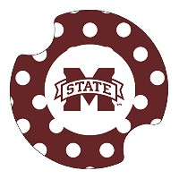 Thirstystone Mississippi State University Dots Car Cup Holder Coaster, by Thirstystone