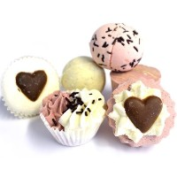 Bomb Cosmetics Chocolate Ballotin Assortment Bath Gift Set by Bomb Cosmetics [並行輸入品]