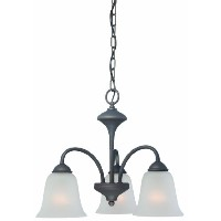 Thomas Lighting 190037763 Holly Chandelier, Painted Bronze by Thomas Lighting