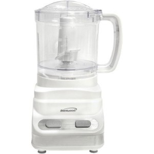 Brentwood Appliances FP-546 3-Cup Food Processor, 24 -Ounce, White by Brentwood Appliances