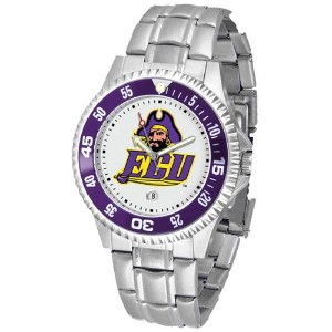 East Carolina Pirates Competitor Watch with aメタルバンド