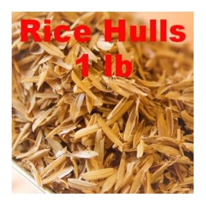 E.C. Kraus Flaked Grains Size Rice Hulls - 1 LB by Home Brew Ohio