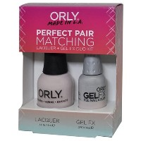 Orly Nail Lacquer + Gel FX - Perfect Pair Matching DUO - Kiss the Bride