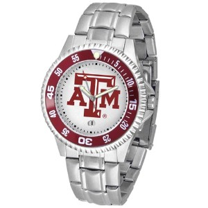 Texas A & M Aggies Competitor Watch with aメタルバンド