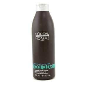 L'Oreal Professionnel Homme Cool Clear Anti-Schuppen Shampoo 250ml/8.45oz by L'Oreal Paris [並行輸入品]