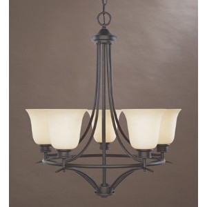 Designers Fountain 96985-ORB Montego 5 Light Chandelier by Designers Fountain