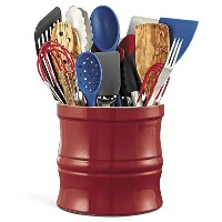 CHEFS Kitchen Tool Crock, Red by CHEFS