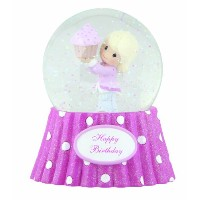 Precious Moments Happy Birthday Musical Water Globe Figurine by Precious Moments [並行輸入品]