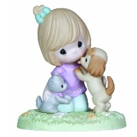 Precious Moments Fur-Ever Friends Figurine by Precious Moments [並行輸入品]