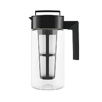 Takeya Flash Chillテつョ Iced Tea Maker (1 Quart, Black) by Takeya