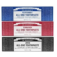 Dr. Bronner's Toothpaste Variety (Variety, 3 Pack) by Dr. Bronner's