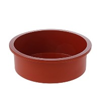 Silikomart SFT180/C 7-Inch Silicone Classic Collection Cake Pan, Deep Round by Silikomart