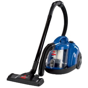 BISSELL Zing Bagless Canister Vacuum, Caribbean Blue 並行輸入