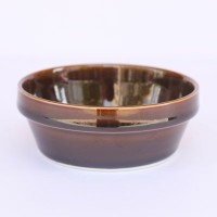 【HASAMI】BLOCKBOWL MINI 波佐見焼き<ブロックボウル ミニ> (BROWN)
