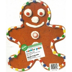 Wilton Giant Gingerbread Boyクッキーパン2105 – 6209、( 1999 )