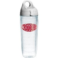Tervis Alpha Omicron Pi Sorority Water Bottle with Lid, 24 oz, Clear by Tervis