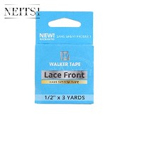 Neitsi(ネイティス)1個 幅1.27cm青 かつら用両面テープ レースフロントテープ lace front tape ロールタイプ超強力両面テープ ウィッグ用両面テープ