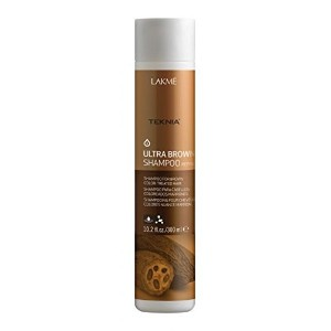 Lakme Teknia Ultra Brown Shampoo 10.2 Oz (300ml) [並行輸入品]