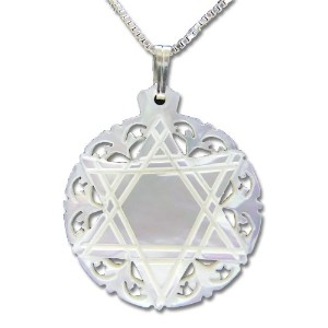 Holy Land Jewerly Collections - Mother of Pearl Star of David