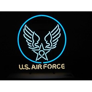 NEON SIGN U.S.AIR FORCE