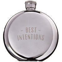IZOLA Best Intentions Flask, 5-Ounce by Izola